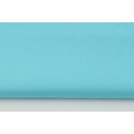 Cotton 100% plain turquoise G