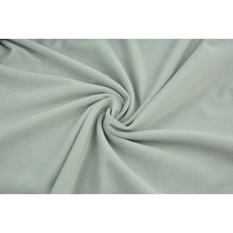 Velvet smooth ashen gray color 220 g/m2