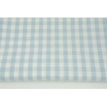 Cotton 100% double-sided baby blue vichy check 1cm (2)
