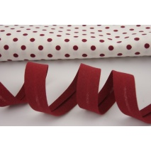Cotton bias binding bordeaux