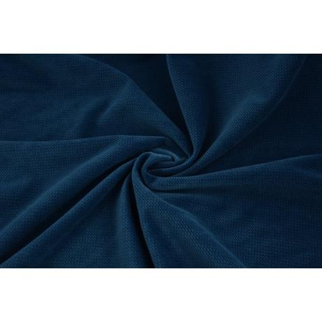 Velvet smooth navy 220 g/m2