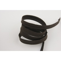 Cotton edging ribbon brown