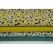 Decorative fabric, plain dark yellow 187g/m2