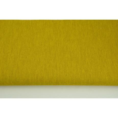 Tkanina dekoracyjna, ciemna żółć jednobarwna 187g/m2