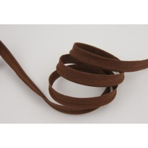 Cotton edging ribbon ginger brown