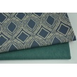 Decorative fabric, plain emerald 187g/m2