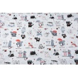 Cotton 100% large cats on a white background (2)