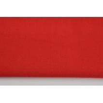 Bawełna 100% czerwona jednobarwna T