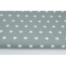 Home Decor, gwiazdki 2cm na szarym tle 220g/m2 II jakość