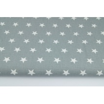 Home Decor, stars 2cm on a gray background 220g/m2 II quality