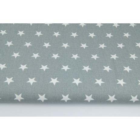 Home Decor, stars 2cm on a gray background 220g/m2