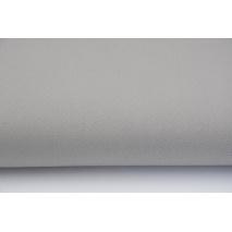 Drill, 100% cotton fabric in plain warm gray colour II quality