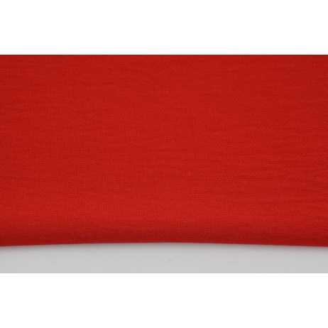 Viscose 100% plain red