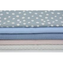 Fabric bundles No. 499 KO 40x140cm
