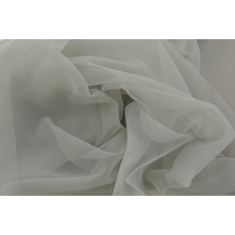 Chiffon, plain light gray