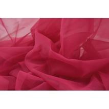 Chiffon, plain ruby