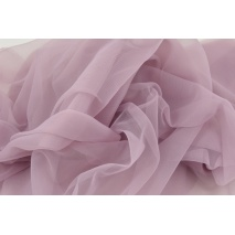 Chiffon, plain dirty violet