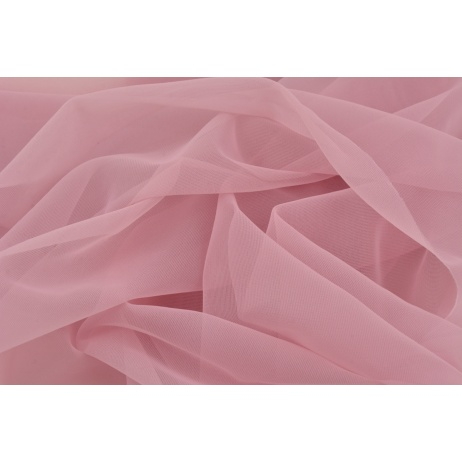 Chiffon, plain blueberry pink