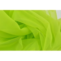 Chiffon, plain light green