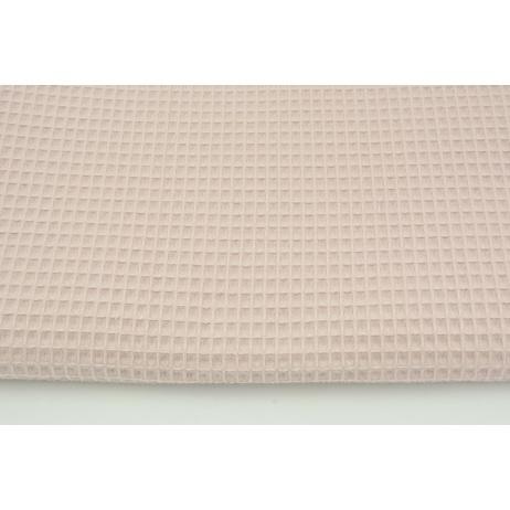 Cotton 100% waffle, powder dirty pink CZ 160 cm