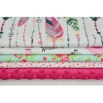 Fabric bundles No. 502 KO 20x160 cm