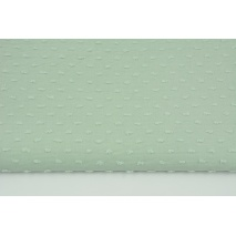 Cotton 100% plumeti dirty mint (2)