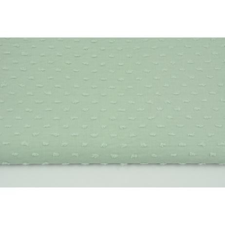 Cotton 100% plumeti dirty mint (2)