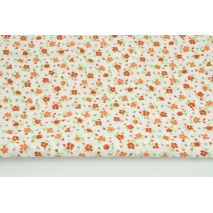 Cotton 100% orange meadow C
