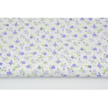 Cotton 100% purple meadow C