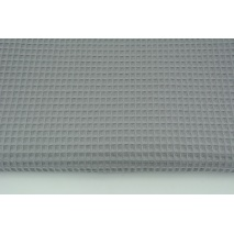 Cotton 100% waffle, dark gray CZ 160 cm
