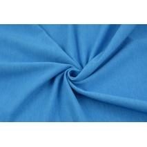 Dzianina, dresówka pętelkowa jasny niebieski melanż jednobarwna