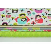 Fabric bundles No. 500 KO 20x140cm
