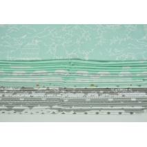 Fabric bundles No. 308 OA 30x140cm