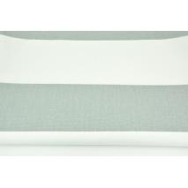 Home Decor, pasy szare 9,5cm na białym tle 220g/m2 BIEL OPTYCZNA