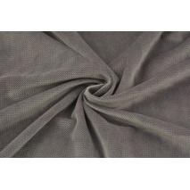Velvet gładki fioletowo-brązowy 220 g/m2