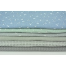 Fabric bundles No. 513 KO 30x130cm