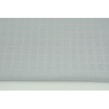 Cotton double gauze, tetra, plain light gray