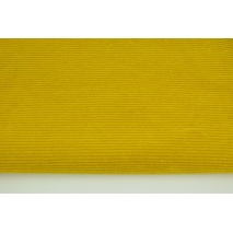 Dzianina, sztruks curry 250 g/m2