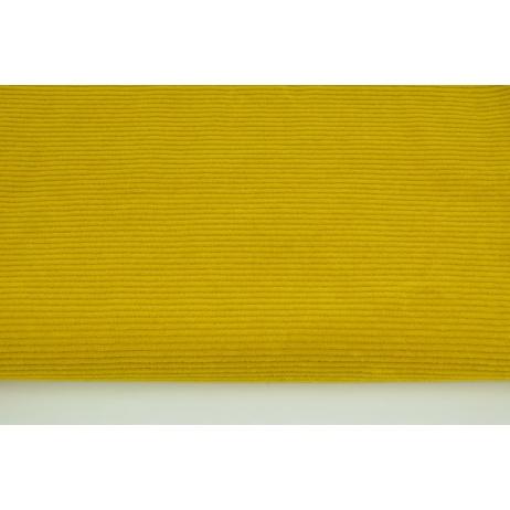 Knitwear, corduroy curry 250 g/m2