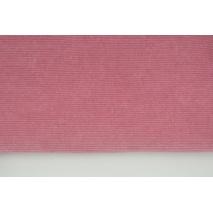 Knitwear, corduroy dirty pink 250 g/m2