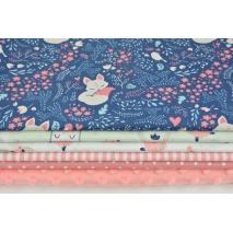 Fabric bundles No. 526 KO 30x150cm
