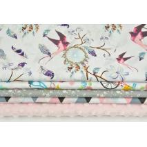 Fabric bundles No. 523 KO 60x150 cm