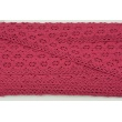 Cotton lace 25mm, cherry