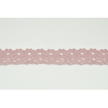 Cotton lace 28mm in a dirty heather color NO 2
