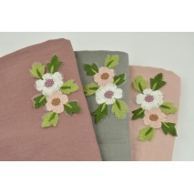Sew-on patch Embroidered flowers