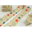 Cotton ribbon with a stars theme 1x3m