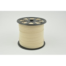 Cotton bias binding beige