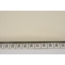 Bawełna 100% porcelanowa waniliowa jednobarwna 120g/m2