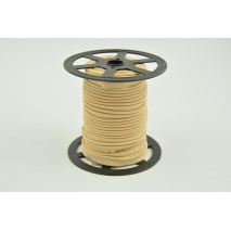 Cotton edging ribbon beige