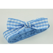 Ribbon blue check 25mm x 4,5m
